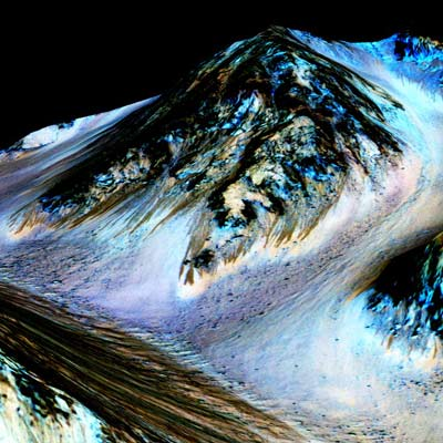 Water Possibly Exists on Mars